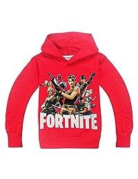Thombase Kids Boys Fortnite PS4 Gaming Inspired Sweatshirt Hoody T-Shirt
