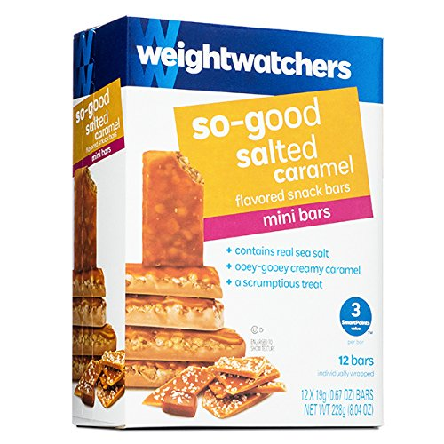Weight Watchers So-Good Salted Caramel Mini Bar