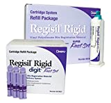 Dentsply 619425-8 Regisil Rigid Super Fast Set VPS Bite Registration Material, Purple, (50 mL) Cartridge Case (Pack of 32)