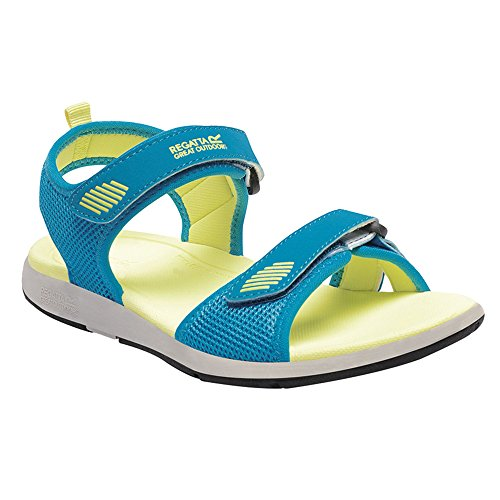 Regatta Lady Terrarock, Damen Sandalen Blue/Citric