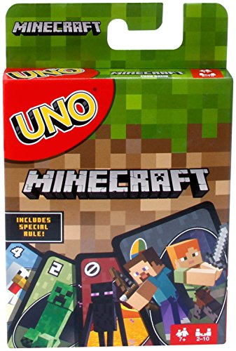 Mattel Uno Minecraft Card Game - minecraft card game