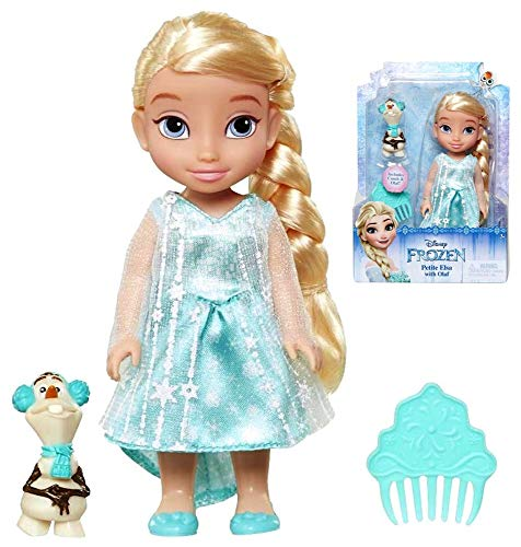 Petite Elsa with Olaf Princess Doll Frozen 6