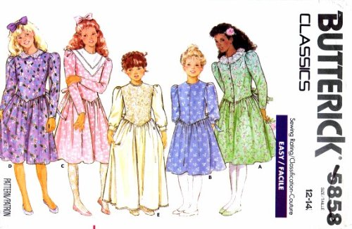 Uncut Vintage Butterick Pattern Dress - 5