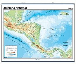 America Central, mapa fisico: S.A. Edigol Ediciones and Edigol ...