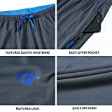 NEIKU Men's Sweatpants with Zipper Pockets Open