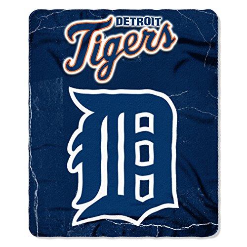 The Northwest Company MLB Detroit Tigers Wicked Printed Fleece Throw, 50 x (Tigers Fleece Throw)