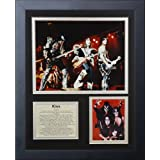 """Legends Never Die""""Kiss"""" Framed Photo Collage, 11 x 14-Inch"""