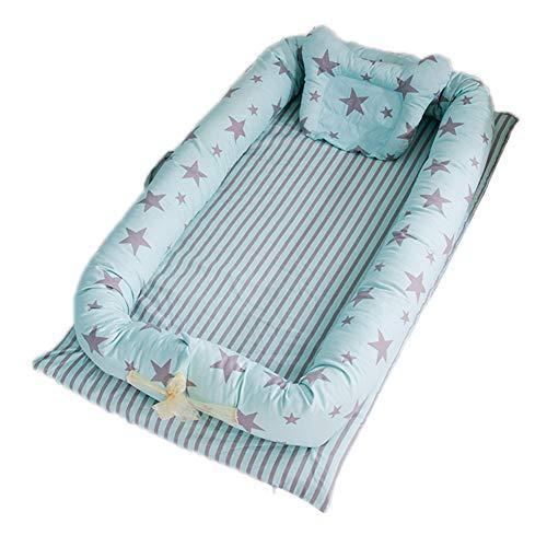 Amyove Baby Bassinet for Bed, Baby Co-Sleeping Cribs & Cradl