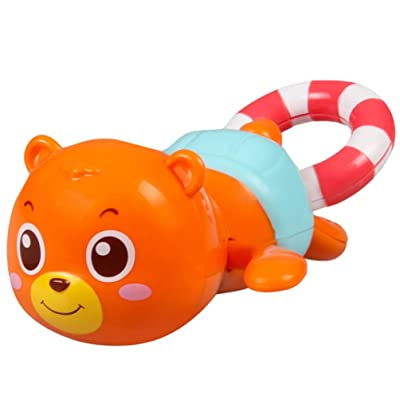 TOYANDONA Baby Bath Toys Pull String Bear Figure Educational Toy Pool Bath Time for Kids Toddler Party Favors : Baby