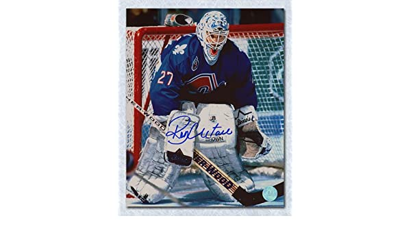Ron Hextall Quebec Nordiques Autographed Goalie 8x10 Photo at Amazon s  Sports Collectibles Store 74e047f7c