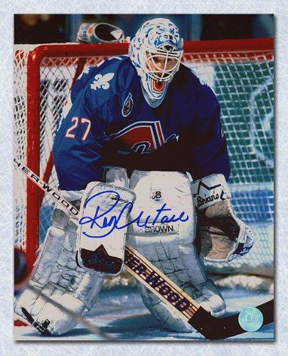 Ron Hextall Quebec Nordiques Autographed Goalie 8x10 Photo at ... db06c2eac