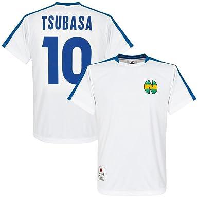 Okawa Camiseta de fútbol Nankatsu Shogaku - Temporada 1 + Tsubasa 10, Hombre, Color Blanco - Blanco, tamaño XL: Amazon.es: Ropa y accesorios