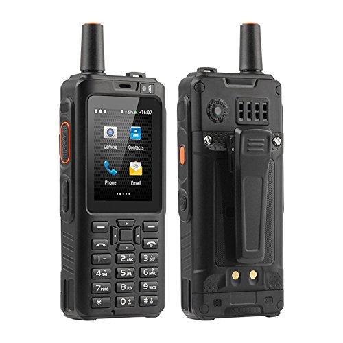 XBOSS 7S+ 4G Zello PTT Walkie Talkie FRS Two-Way Radio IP65 Waterproof Smartphone 4000mAh 2.4 Inch Touch Screen Quad Core 1GB RAM 8GB ROM Android 6.0 (Best Quad Core Android Phone)