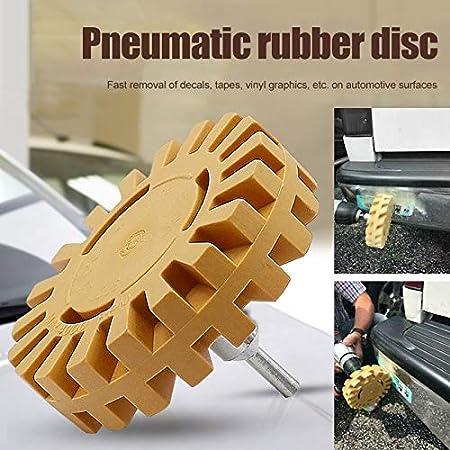 Rubber Grinding Tire Polishing Wheel Tool CerisiaAnn Pneumatic Degumming Wheel