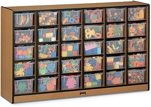 JNT0430JCWW004 - Rainbow Accents Toddler Single Storage (Rainbow Accents Single)