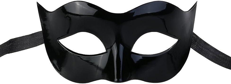 LUOEM Hombres Masquerade Máscara Ball Half Face Ojo Máscara para ...
