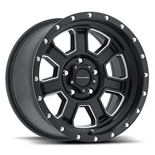 Pro Comp Wheels 5143-2973 Xtreme Alloys Series 5143 Satin Black Finish Size 20x9 Bolt Pattern 5x5 in. Back Space 5 in. Offset 0 Max Load 2500 Xtreme Alloys Series 5143 Satin Black Finish ()