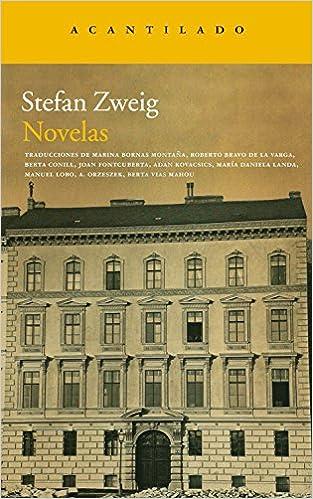 Novelas, de Stefan Zweig
