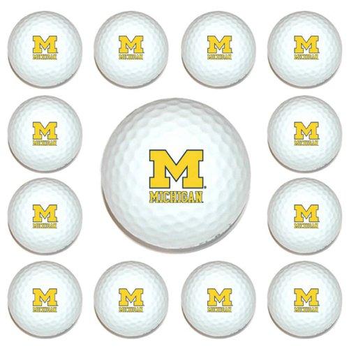 Michigan Wolverines Logo Golf - 1