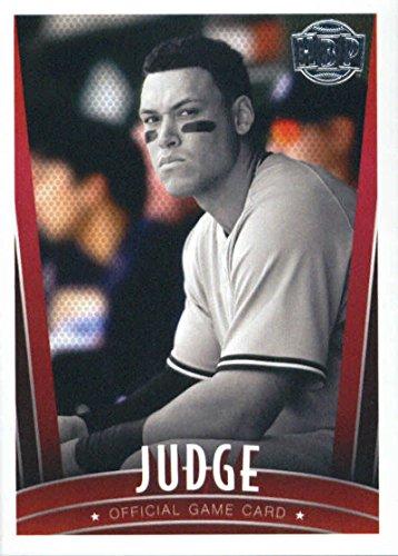 Cards Baseball Silver - 2017 Honus Bonus Fantasy Silver Foil #418 Aaron Judge Baseball Card