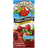 Apple & Eve 100% Juice, Natural Cranberry, 6.75 Fluid-oz., 40 Count,