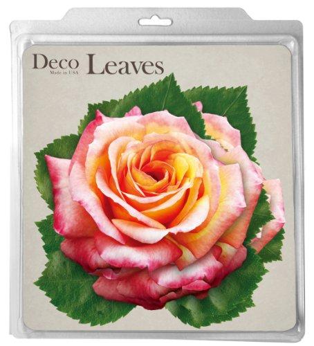 EuroQuest Imports Roses Parchment Leaves