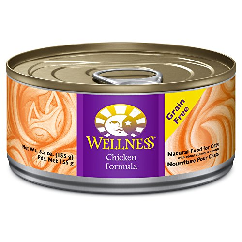 Wellness Complete Health Natural Canned Grain Free Wet Cat Food, Chicken Pate, 5.5-Ounce Can (Pack of - Recalls Food Fda