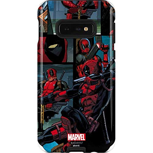 Skinit Deadpool Comic Galaxy S10e Pro Case - Officially Licensed Marvel/Disney Phone Case Pro, Scratch Resistant Galaxy S10e Cover]()