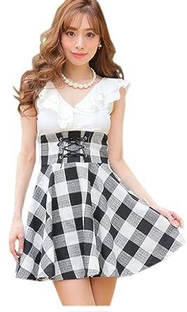 374f778db4b73 キャバ ドレス ミニ ロング フレア キャバワンピ キャバドレス 大きいサイズ パーティー ドレス ミモレ丈 激安