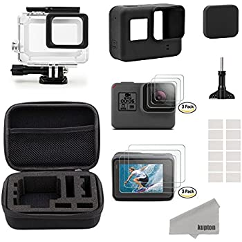 Amazon.com : Husiway Accessory Kit for GoPro Hero 7 6 5 ...