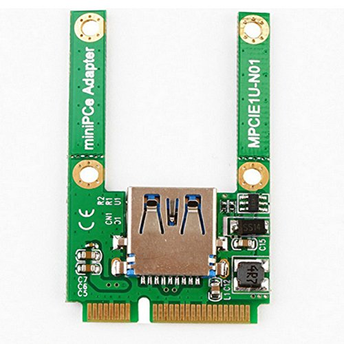 Amazon.com: TOOGOO 1 Unit Mini PCI-E PCI-Express Card USB ...