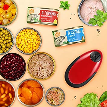Red Chef/'s Best Choice Restaurant Can Opener Electric Can Opener Touch and Go Professional Can Opener Automatic Can//Tin Opener