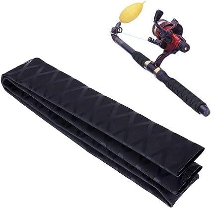 1M Non Slip Heat Shrink Tubing Grip Fish Tackle Rod Racket Handle Wrap Building