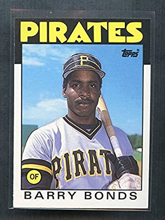 0f336ffa4c7 1986 Topps Traded  11T Barry Bonds Pittsburgh Pirates Rookie Card Ships in  a Brand New