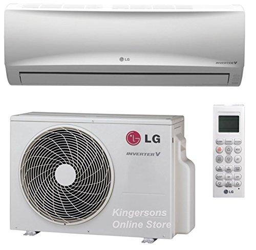 LG Single Zone Inverter Heat Pump System, Mega Series 115V (12K BTU), LS120HXV (Lg Split Heat Pump)
