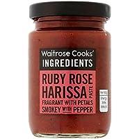 Ingrédients De Rubis Cuisiniers Rose Harissa Pâte Waitrose 95G