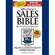 The Sales Bible By Jeffrey Gitomer(A)/Jeffrey Gitomer(N) [Audiobook, MP3 CD] by N/A (2008-01-01)