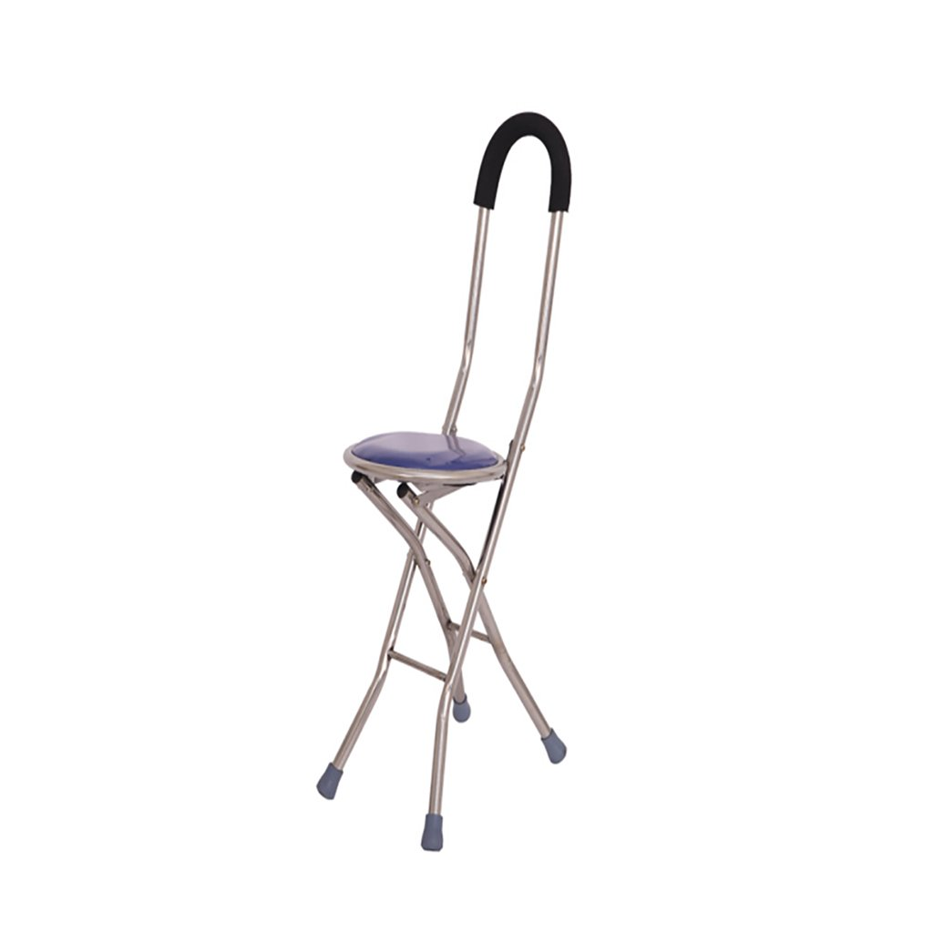 NUBAO 高齢者のための歩行スティック四隅の椅子/スツール杖アルミニウム歩行スティック3色の泡のハンドルの長さ85センチメートル(33.46インチ) (色 : A, サイズ さいず : One) B07CQN22QK One|A A One