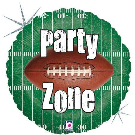 Football Field Ball Party Zone Sports Boy Birthday