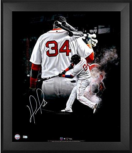 (David Ortiz Boston Red Sox Framed Autographed 20