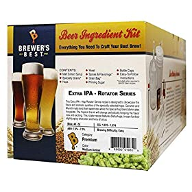 Brewer's Best Home Brew 5 Gallon Beer Ingredient Recipe Kit Extra IPA Hop Rotator Series &#821