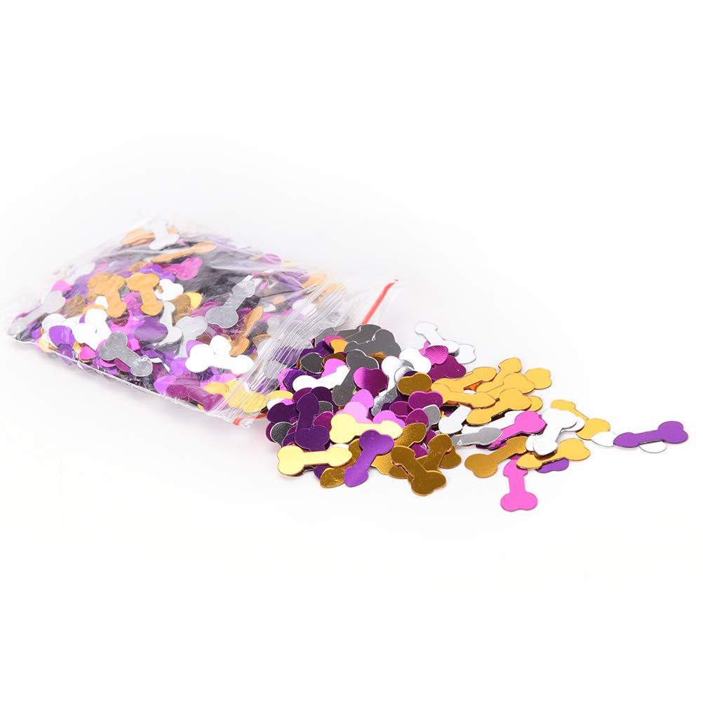 ECYC 1Bag Colorful Confetti Sequins Bachelorette Party Decoration Confetti Wedding Table Decor Hen Party Supplies 13994-7