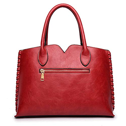 Tracolla Rilievo Cinese Vintage Borsa In Nuova Zm Red Stile Grande Capacità 2018 A Donna Da aOU7qxYT