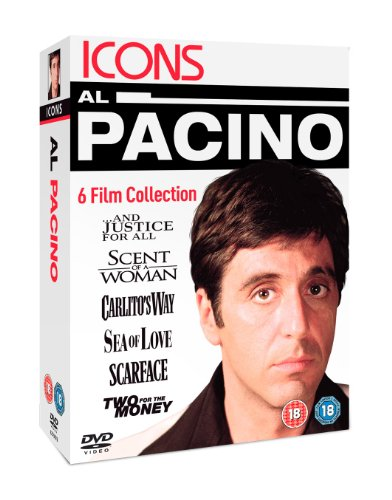 Al Pacino - And Justice For All / Scent Of A Woman / Carlitos Way / Sea Of Love / Scarface / Two For