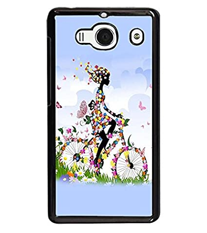 watch f5d33 15148 printtech Butterfly girl Back Case Cover for Xiaomi: Amazon.in ...