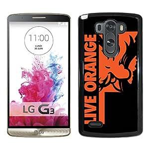 NCAA Oklahoma State Cowboys 11 Black Popular Custom Design LG G3 Phone Case