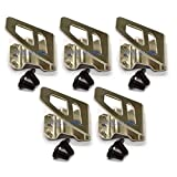 5x Belt clip Hook free Screw for Milwaukee M18 FUEL Impact Driver Hammer Drill