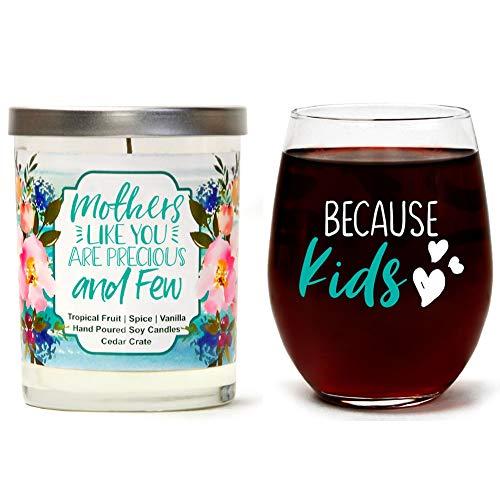 Cedar Glass Candle -