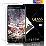 Yersan iPhone 8, 7, 6S, 6 Screen Protector Glass [2 Pack], Full Coverage HD Tempered Glass, 9H Hardness, Anti-Scratch Screen Protector for Apple iPhone 8, 7, 6S, 6