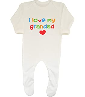 Shopagift I Love My Sister Cute Baby Sleepsuit Romper